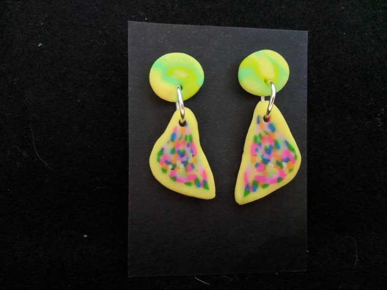 Fairy Bread earrings image 0