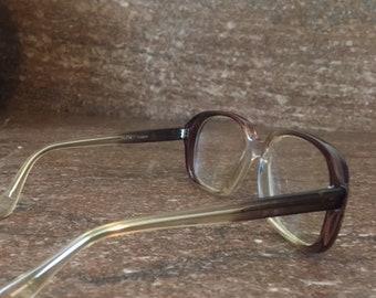 fdec804abe61 Vintage 1970s Boxy Oversized Eyeglasses Boho Chic Eyeglasses Frames Indie  Hipster Fashion Womens Ladies Girls