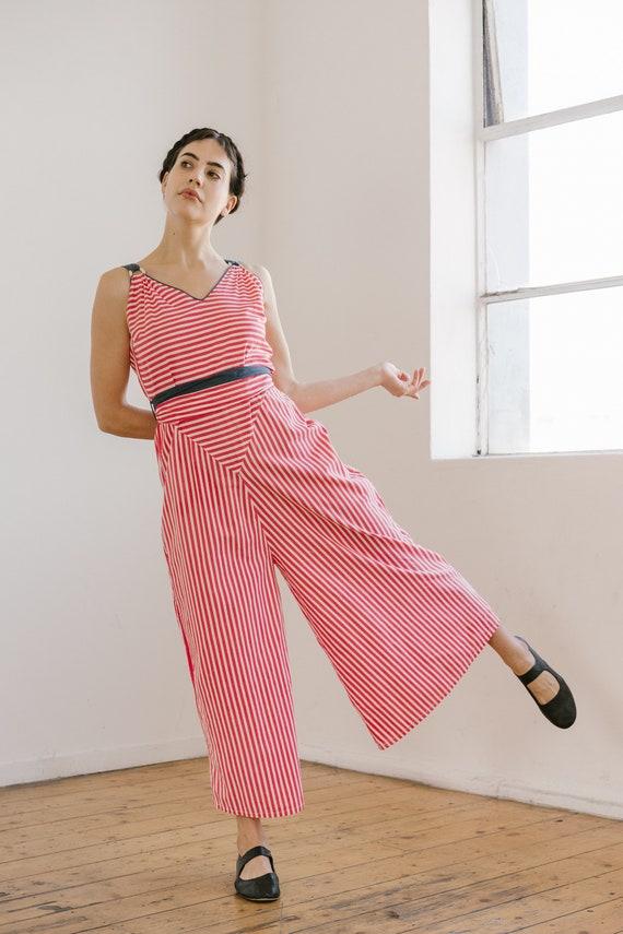 RARE 1930s patriotic wide leg beach pyjamas OOAK … - image 1