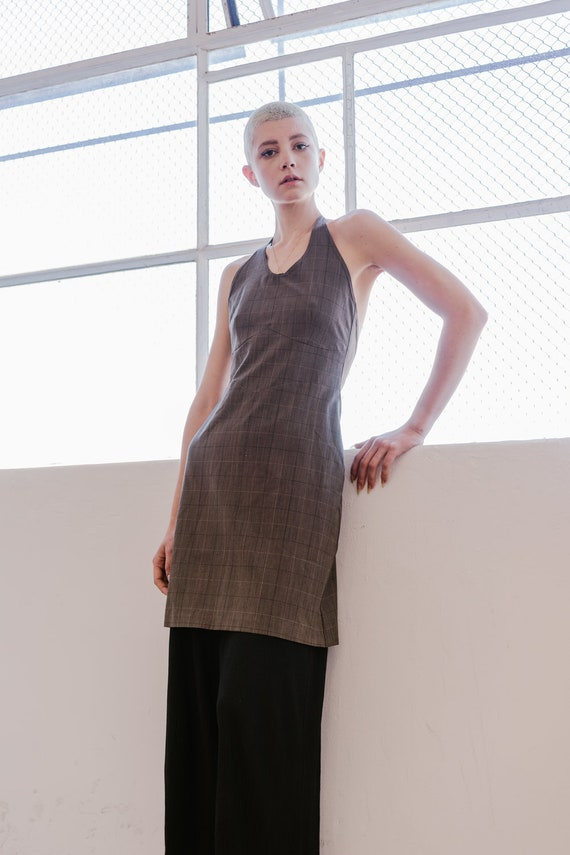 Vintage 1990s Zambesi halter dress