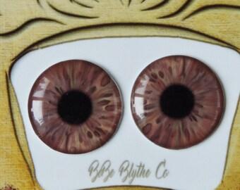 Blythe Eye Chips - Middie, Petite & Pullip Eye Chips, Realistic Doll Eyes, Custom Blythe Doll Eye Chips, Blythe Custom, Blythe Eyes C42