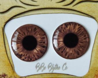 Blythe Eye Chips - Middie, Petite & Pullip Eye Chips, Realistic Doll Eyes, Custom Blythe Doll Eye Chips, Blythe Custom, Blythe Eyes C47