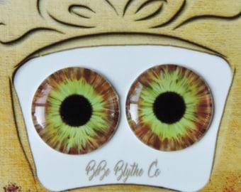 Blythe Eye Chips - Middie, Petite & Pullip Eye Chips, Custom Blythe Eyechips, Realistic Doll Eyes,  Blythe Custom, Blythe Eyes A8