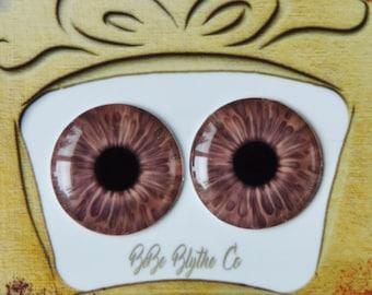 Blythe Eye Chips - Middie, Petite & Pullip Eye Chips, Realistic Doll Eyes, Custom Blythe Doll Eye Chips, Blythe Custom, Blythe Eyes C45