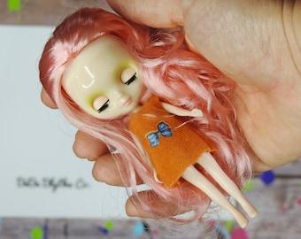 Petite Blythe Doll for Customizing, Blythe Doll Parts, Custom Blythe, Blythe Custom, Blythe, Blythe Dolls, Blythe Doll Kit, Factory Blythe