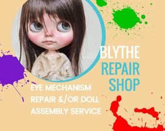 Blythe Doll EyechipsThin Eyechips for Blythe Doll OnlyNewHandmade
