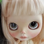 Blythe Middie and Pullip Doll Eyes Realistic Resin Chips Custom Customize OOAK Art Doll Petite Blythe Eye Chips Mini Pullip Eye Chips B21