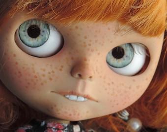 Blythe Eye Chips - Middie, Petite & Pullip Eye Chips, Custom Blythe Eyechips, Realistic Doll Eyes,  Blythe Custom, Blythe Eyes A23