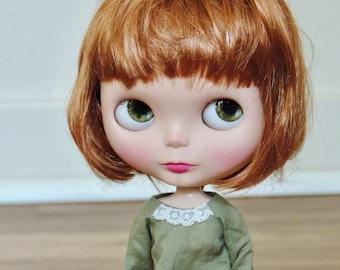 Synthetic Mohair Blythe Wig, 10-11' Doll Wig, Blythe Doll Supplies, Custom Blythe, Blythe, Blythe Doll, Blythe Dolls, Hair for Blythe Doll