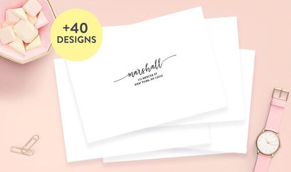 wedding address labels 3 5 x 1 75 wedding guest etsy