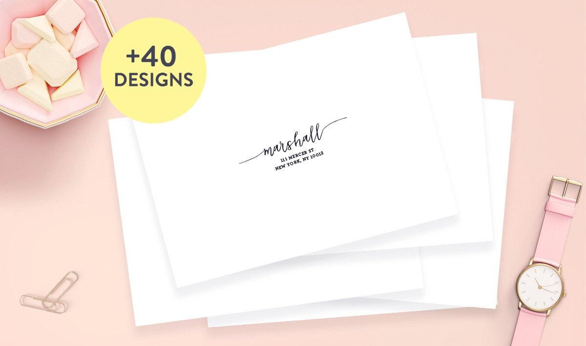 Wedding Guest Address Labels 2.625 x 1 Wedding | Etsy