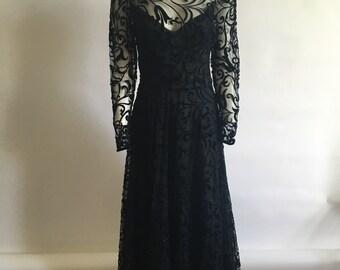 3c9b43e163 Vintage Caroline Charles Evening Gown