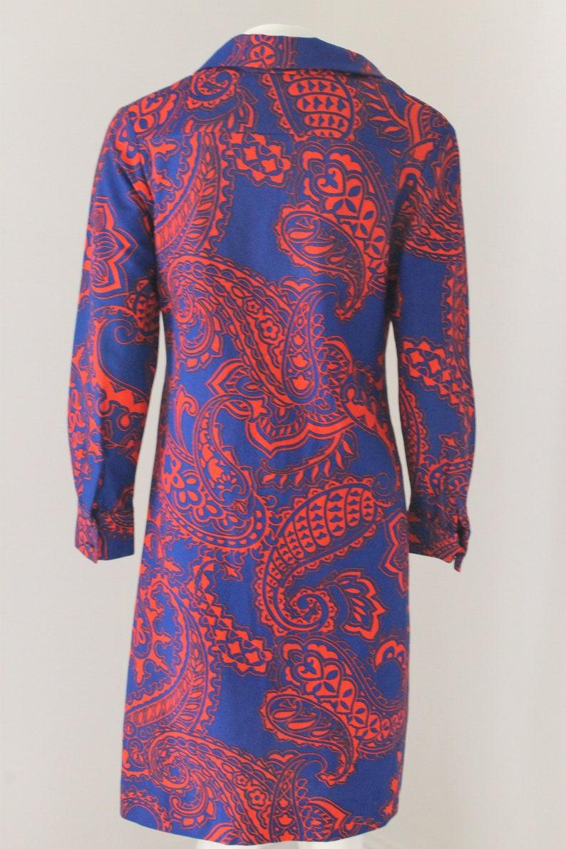 1960s Vintage Lanvin Shirt Dress