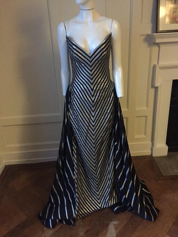 Bob Mackie 80s full length gown