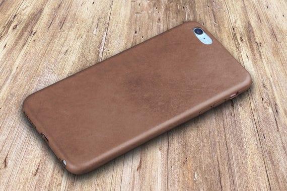 Leather Iphone 6 Case Black Iphone 6 Plus Case Genuine Leather Etsy