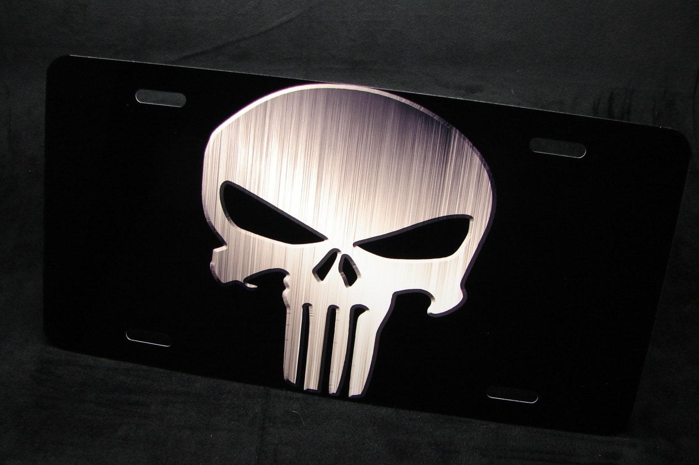 PUNISHER TOTENKOPF Metall Nummernschild Tag für Autos Suvs | Etsy