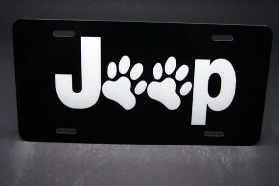 CAT LOVER METAL ALUMINUM CAR LICENSE PLATE TAG ANIMAL LOVE PAWS PETS