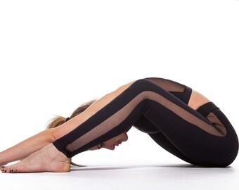Runners Leggings, Yoga Leggings, Sport Bra, Black Top, Yoga Bra, Fitness Top, Fitness Leggings, Workout Clothes, Fitness Apparel