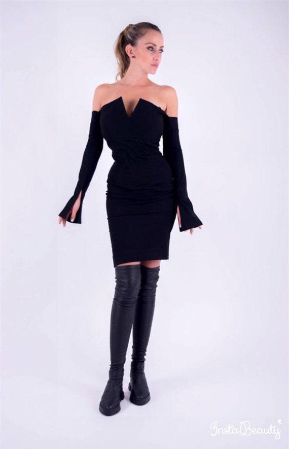 7cce4e994b Cocktail Dress Bodycon Black Dress Little Black Dress Prom
