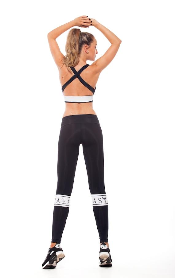 e4486d0539 Workout Pants, Black Sport Top, Runners Leggings, Sports Bra, Yoga Top, Workout  Leggings, Athletic Leggings, Gym Leggings, Athletic Wear