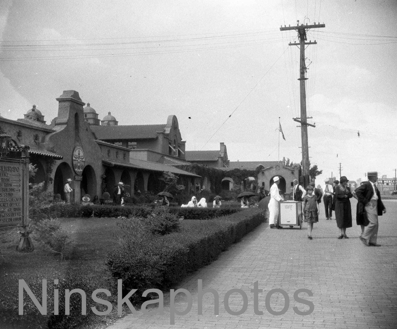 Albuquerque Railway Station New Mexico United States 1920s