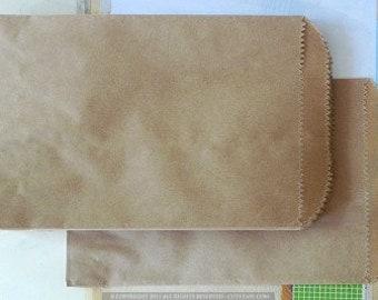 "Flat Paper Bags, Sandwich Bags, Kraft Bags, 5 x 7"", 6 x 9"", 9 x 12"", Packaging Bags"