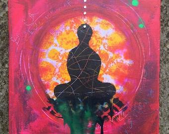 Meditation Small Canvas