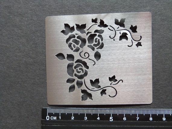 Erica//Stencil//Template//Randen//Flower//Swirl//Stitch//Embroider//4.050.338