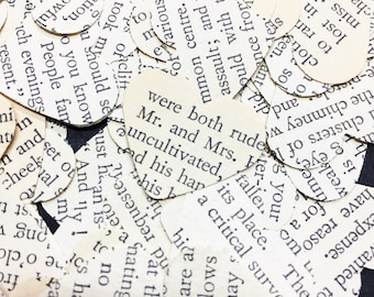 500 Wuthering Heights confetti hearts , party , wedding , card making , smashbooks table top confetti