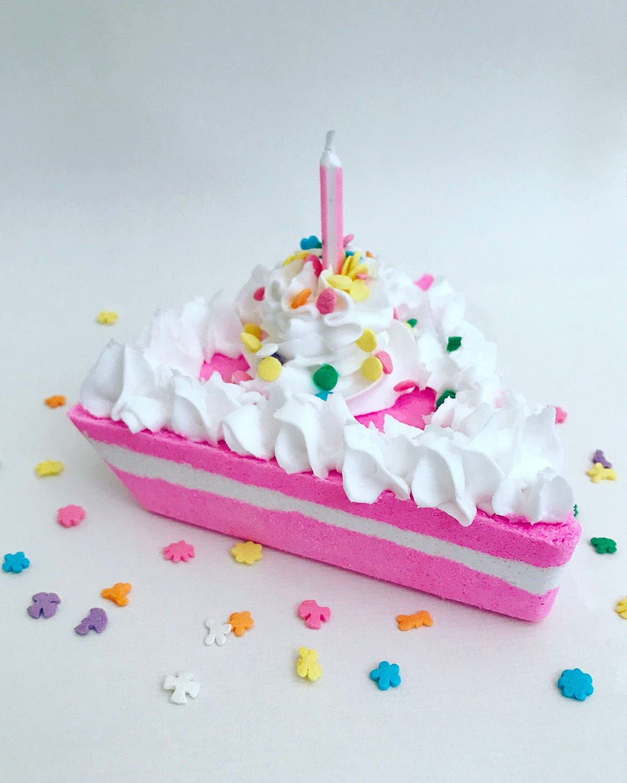 Birthday Cake Bubble Bath Bomb