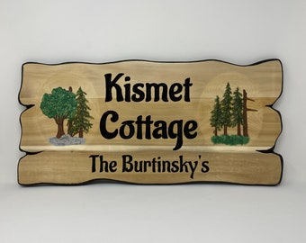 Maple Tree Family Name Sign - Rustic Decor - Personalized Sign - Wood Wall Art - Outdoor Wall Art - Custom Wood Signs