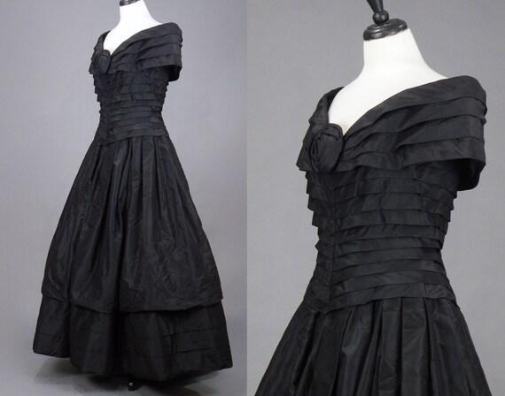 Vintage 1980s Arnold Scaasi Evening Dress, 80s De… - image 4
