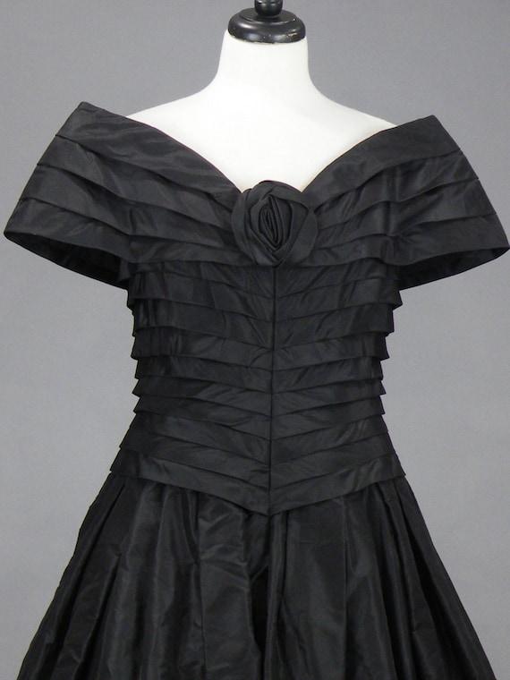 Vintage 1980s Arnold Scaasi Evening Dress, 80s De… - image 3