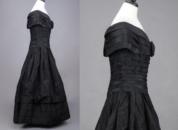 Vintage 1980s Arnold Scaasi Evening Dress, 80s De… - image 6