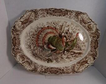 Johnson Brothers Wild Turkey Large Platter