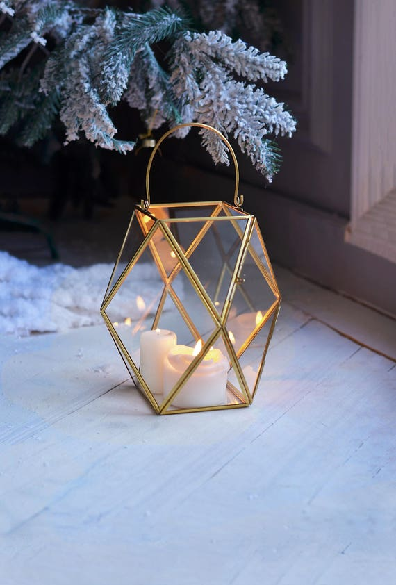 Fantastisch Laterne Herzstück Geometrische Kerze Halter Hochzeit Laterne | Etsy