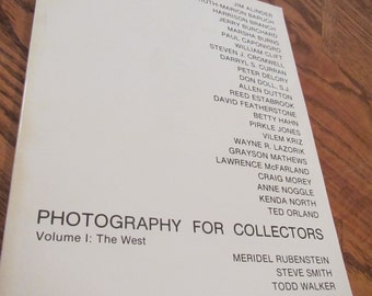 No Date ** Photography For Collectors * Volume 1 : The West  ** sj