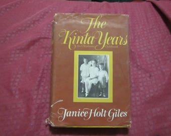 1973 ** The Kinta Years ** Janice Holt Giles **sj