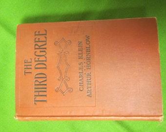 The Third Degree** Klein * Hornblow ** 1909 **sj