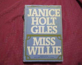1971 ** Miss Willie ** Janice Holt Giles **sj