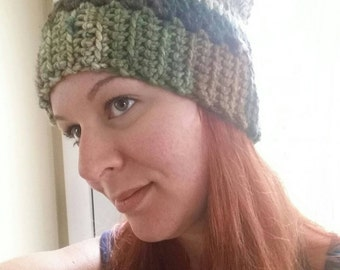 Custom Slouchy Winter Hat