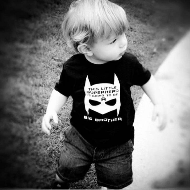 d334d99b Big Brother announcement shirt new baby super hero big brother   Etsy