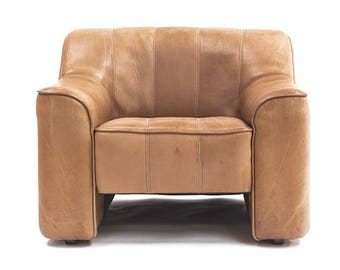 Pair of Vintage De Sede DS44 Lounge Chairs