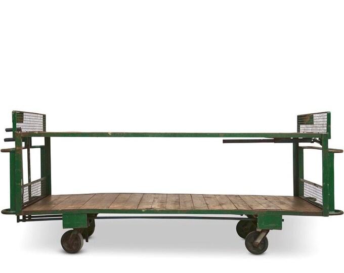 Industrial Table on wheels