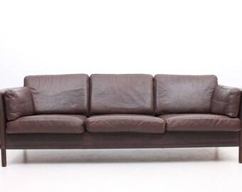 Danish modern sofa   Etsy