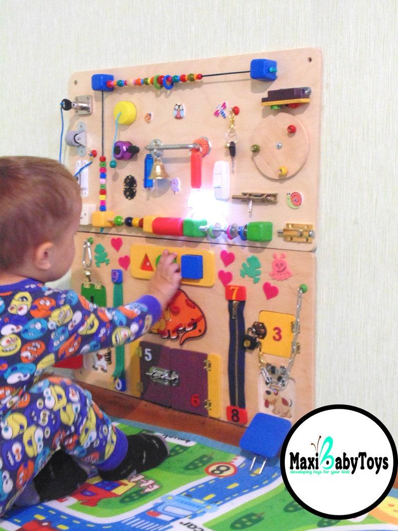 Beschaftigt Board Kleinkind Geschenk Montessori Baby Etsy