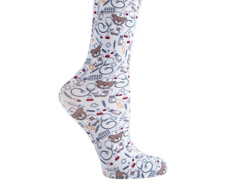 Cutieful Therapeutic Compression Socks - Nurse Bears