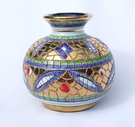 Vintage Deruta Ceramica Artistica Majolica Pottery Byzantine | Etsy
