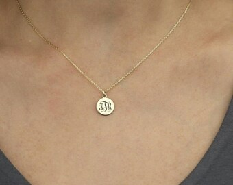 14k,Mother's Day Gift Custom Necklace For Mom, Custom Initial Necklace, Mommy Necklace, Family Necklace, Personalized Necklace, Mom Gift