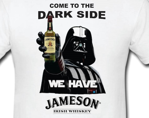 Funny T-shirt-Darth vader lovers-Anakin Skywalker-jameson-guinness